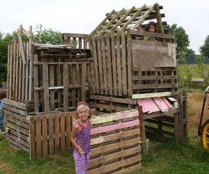 Hut bouwen