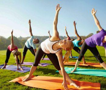 yoga groep